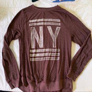 AF soft oversized maroon/burgundy sweater